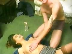 Amateur Facial Threesome Vintage