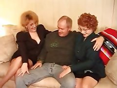 Granny Hardcore MILF Stockings