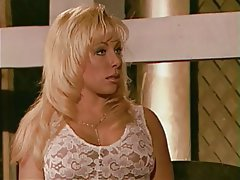 BDSM Threesome Blonde Femdom