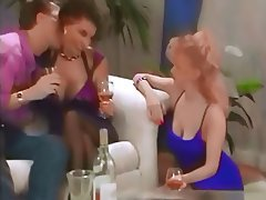 Big Boobs British Swinger Threesome