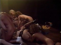 Blonde Group Sex Pornstar Vintage