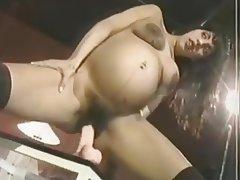 Brunette Hairy Masturbation