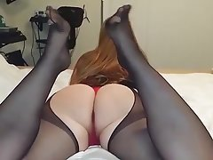 Amateur Foot Fetish MILF Stockings