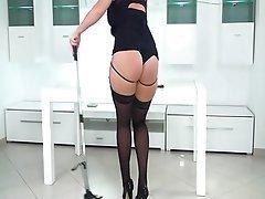 Amateur Blonde Anal Ass Licking