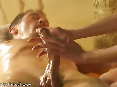 Blonde Massage MILF