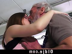 Blowjob Cunnilingus Old and Young Spanking
