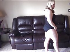 BBW Big Butts Lingerie Masturbation