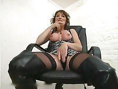Anal Brunette Hardcore Stockings