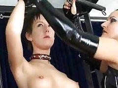 BDSM Bondage Brunette German