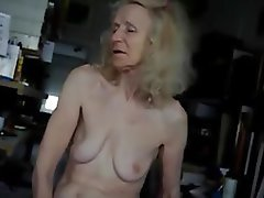 Amateur Granny Hairy Masturbation
