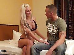 Big Boobs Blonde German Hardcore Teen