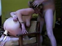 Amateur Bondage Facial