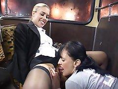 Ass Licking British Lesbian