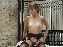 Hairy Masturbation MILF Stockings
