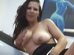 Amateur German Masturbation MILF Piercing