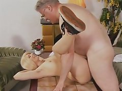 Blonde German Hairy Hardcore