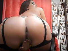 Big Butts Masturbation Stockings