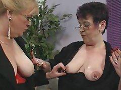 German Granny Lesbian Masturbation