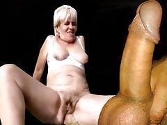 Granny Anal Cumshot Mature