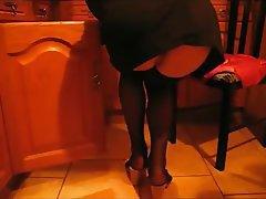 Amateur Stockings Foot Fetish Lingerie