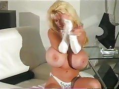 Big Boobs Blonde Vintage