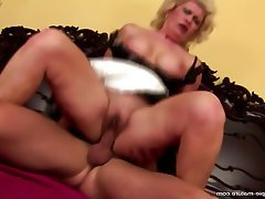 MILF Creampie Granny Mature Old and Young