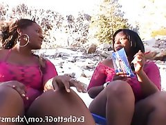 BBW Hardcore Lesbian Threesome