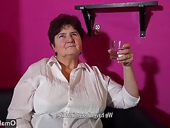 BBW Czech Masturbation Mature