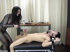 BDSM Bondage Cumshot Femdom