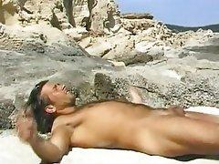 Anal Beach Brunette