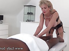 Big Boobs Handjob Interracial Massage