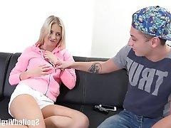Blonde Blowjob Hardcore Teen