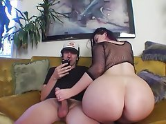 Big Butts Lingerie MILF Handjob