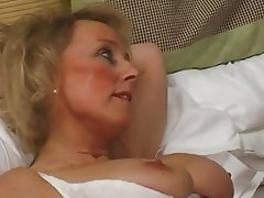 British Cum in mouth MILF Nipples