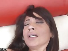 Hardcore Interracial POV Small Tits