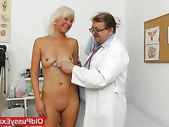 Blonde Mature Medical