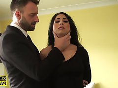 BDSM British Handjob Squirt