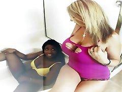 Big Boobs Big Butts Interracial Lesbian