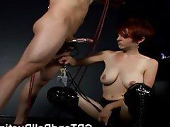 BDSM Redhead Bondage