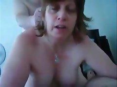 Amateur Granny Mature Saggy Tits