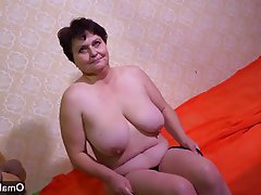 Czech Granny Masturbation Mature