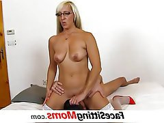 Mature MILF Old and Young Face Sitting