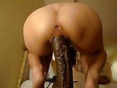 Dildo Interracial Squirt Wife