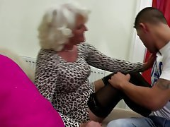 Granny Mature MILF Old and Young Stockings