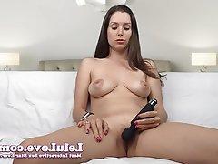 Amateur Dildo Masturbation