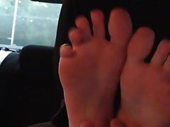 Amateur BDSM Foot Fetish Bondage