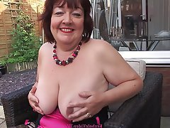 Big Nipples British Mature MILF