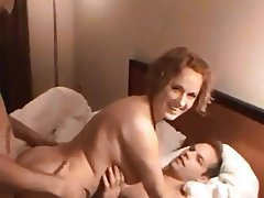 Amateur Double Penetration Group Sex MILF