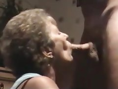 Blowjob Mature Facial Granny