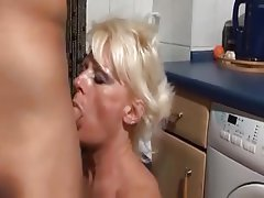 Cum in mouth Doggystyle German Granny
